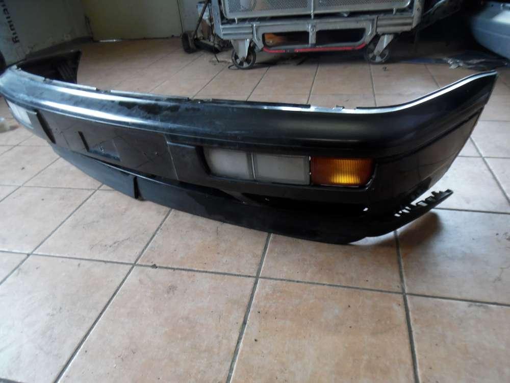 VW Golf 3 Stoßstange Stoßfänger Vorne mit Blinker Schwarz 1H6807221