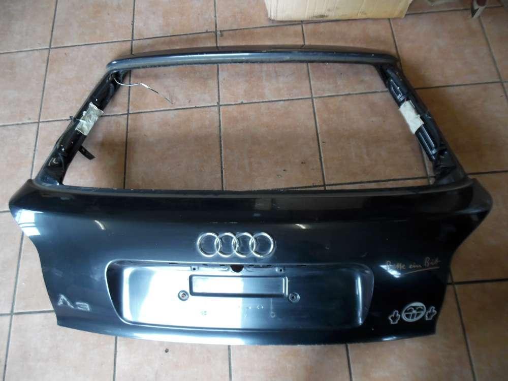 Audi A3 8L Heckklappe ohne Heckscheibe Schwarz