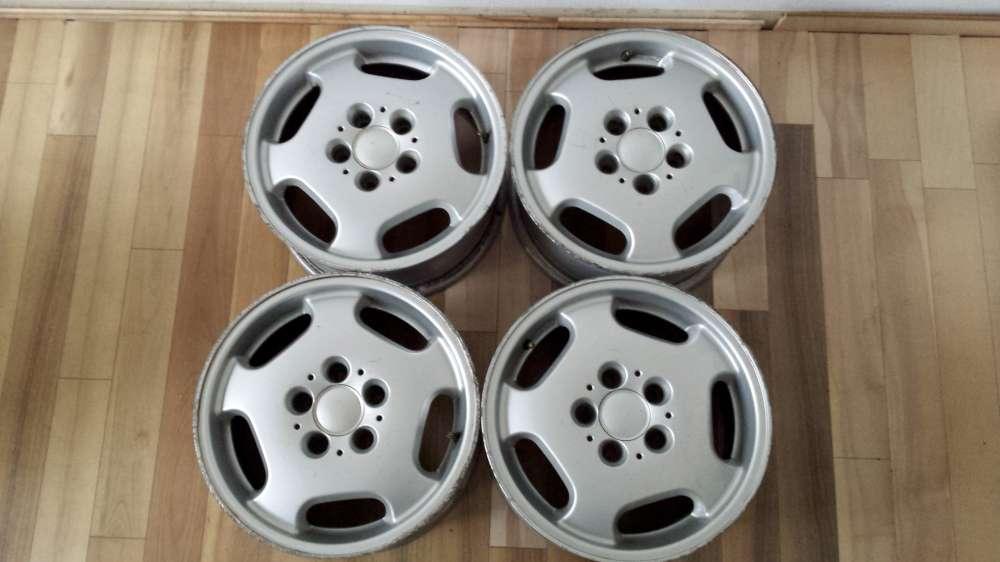 4 x Alufelgen Mercedes- Benz KBA 44301  ,  7Jx15H2   ET : 45