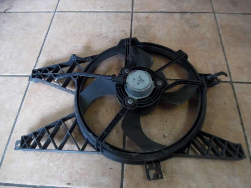 Renault Twingo II Elektrolüfter Lüftermotor Lüfterrad 8200066098