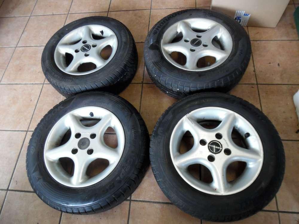 4 x Alufelgen mit Reifen Winter für Renault 175/65 R13 80T