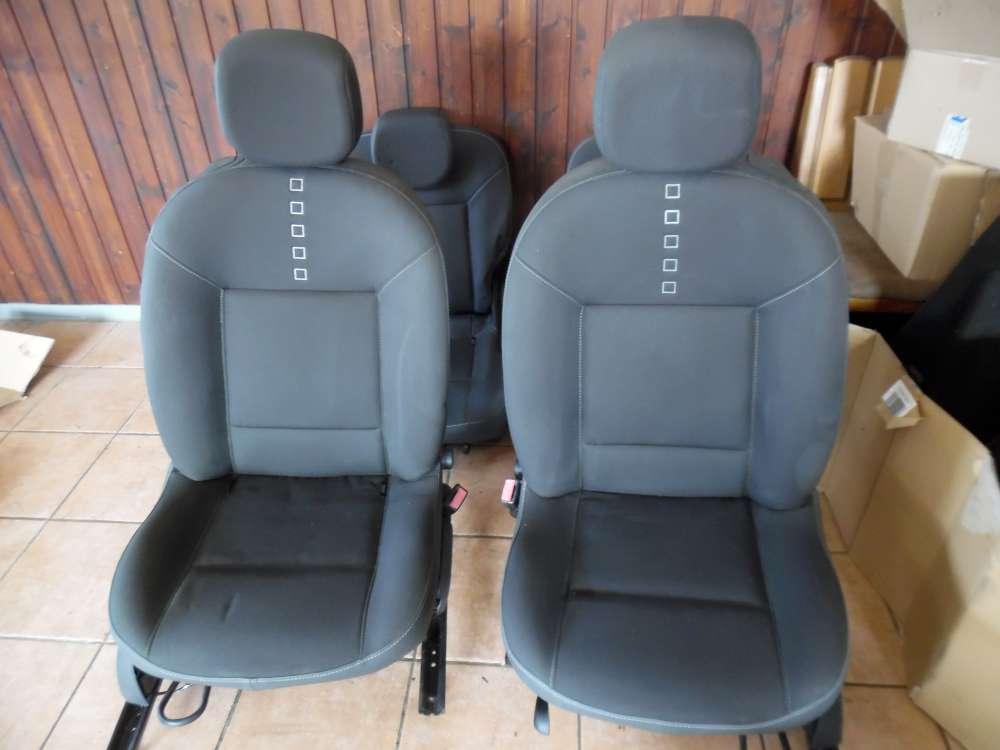 Renault Twingo II Sitze Innenausstattung Komplett Stoff grau