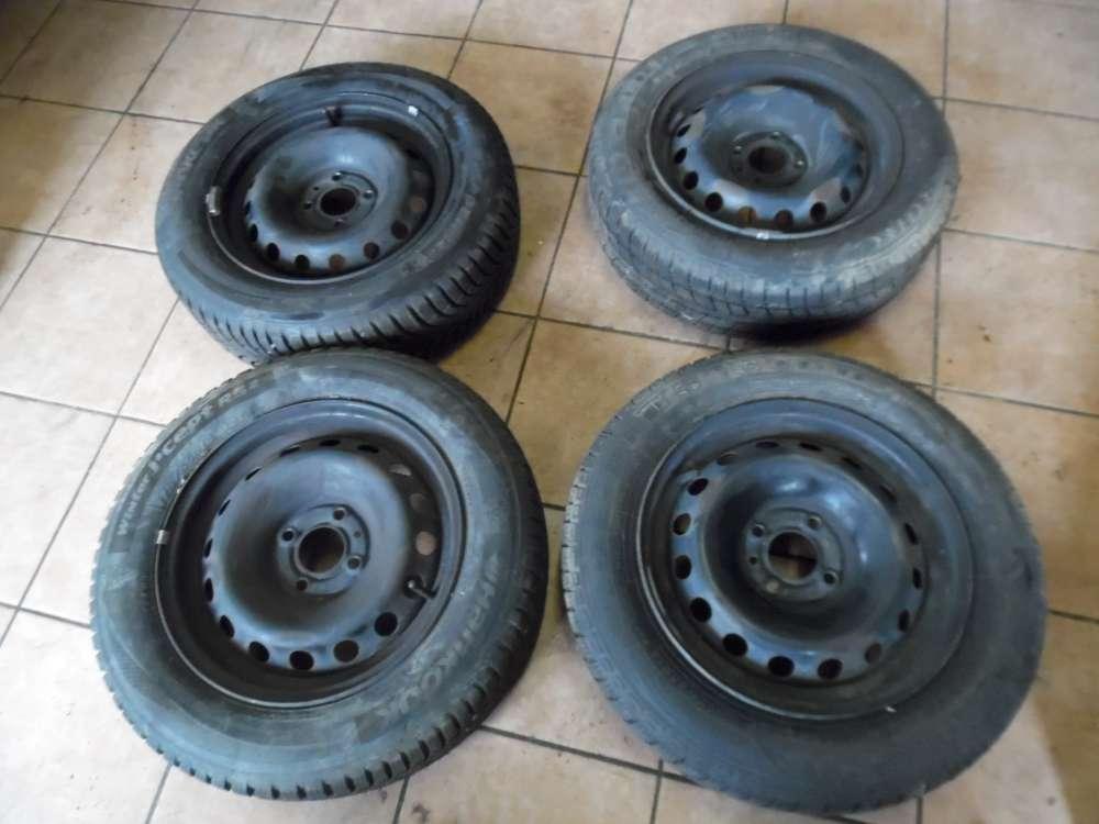 4 X Stahlfelgen mit Reifen Winterreifen für Renault Twingo II 175/65R14 82T  48 10 ET29