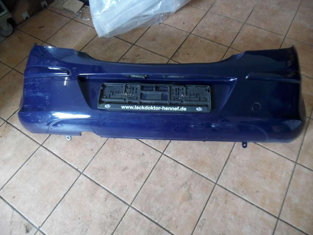 Opel Corsa D Stoßstange Hinten Blau Farbcod : Y20Z