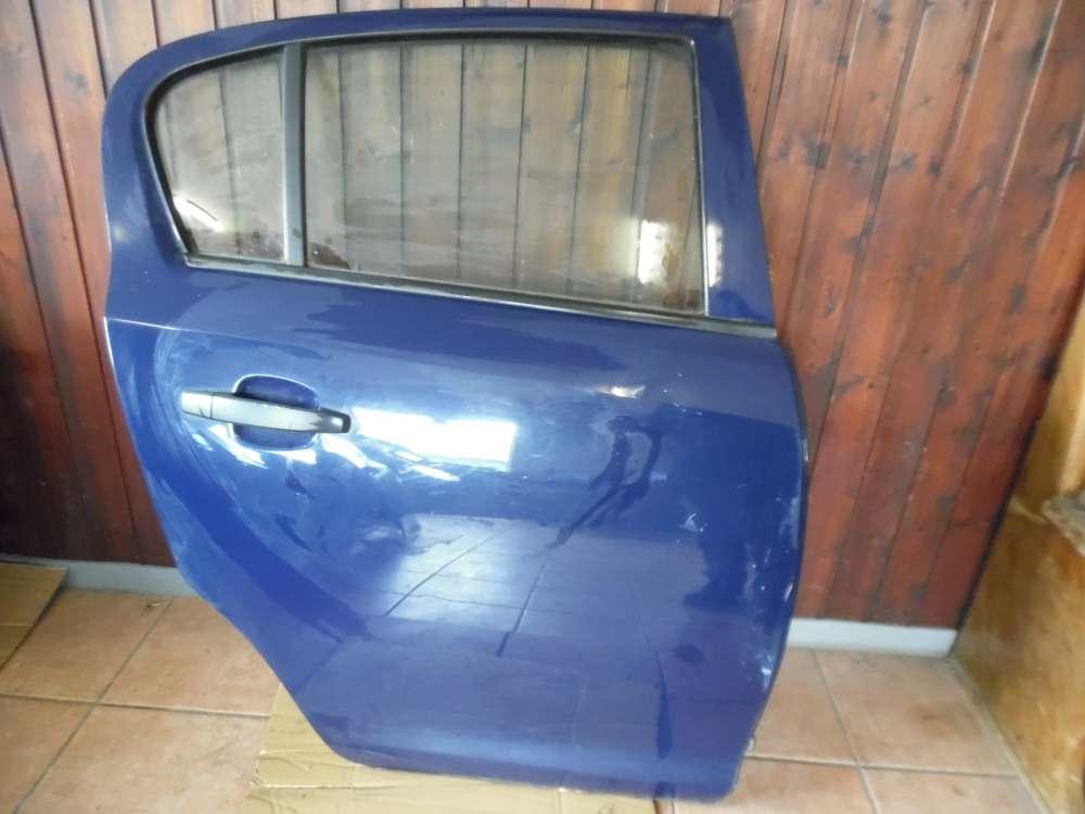 Opel Corsa D Tür Hinten Rechts Blau Farbcod : Y20Z
