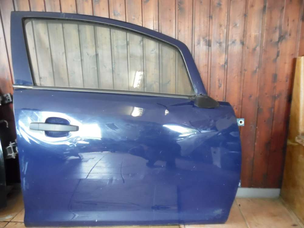 Opel Corsa D Tür Vorne Rechts Blau Farbcod : Y20Z