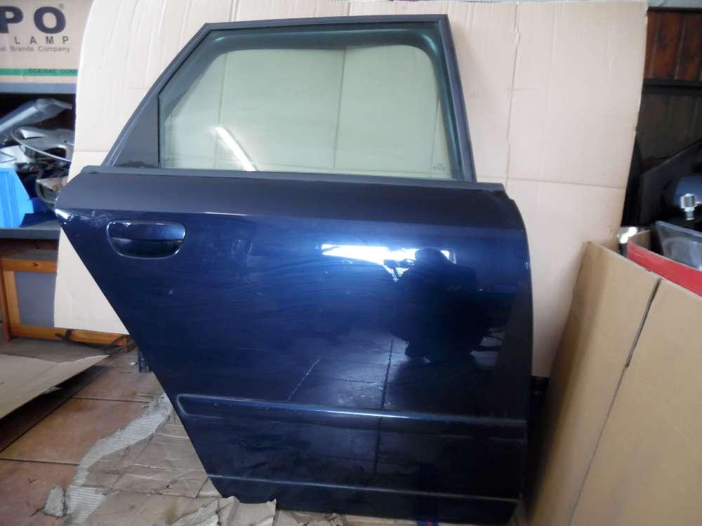 Audi A4 8E Tür Hinten Rechts Blau Farbcod : LZ5J