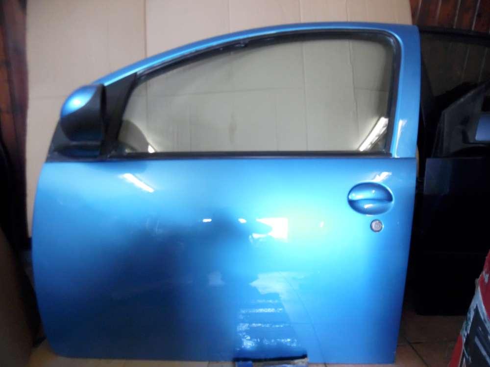 Peugeot 107 Tür 5-Türer Vorne Links Blau