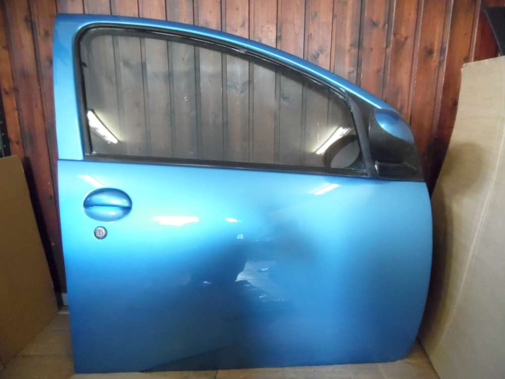 Peugeot 107  5-Türer Tür Vorne Rechts Blau