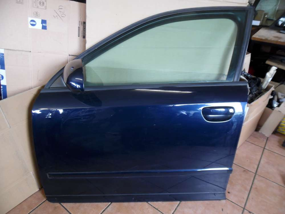 Audi A4 8E Tür Vorne Links Blau Farbcod : LZ5J