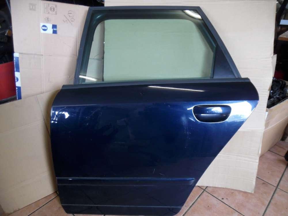 Audi A4 8E Tür Hinten Links Blau Farbcod : LZ5J