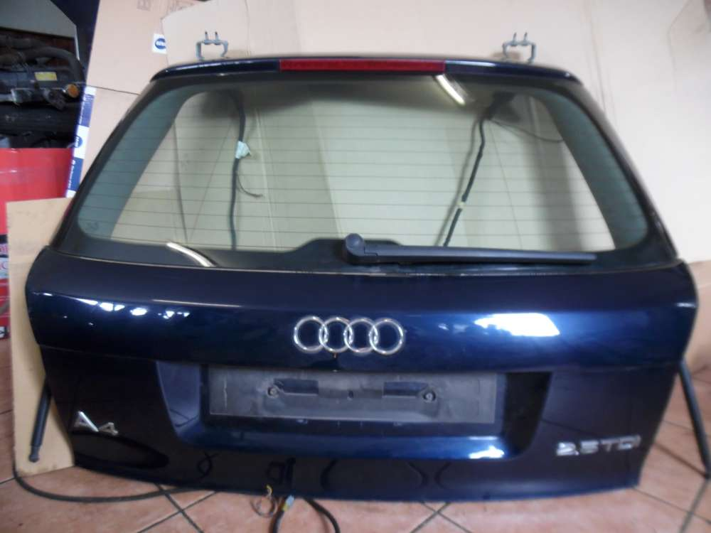 Audi A4 8E Heckklappe Kofferraumdeckel Blau Farbcod : LZ5J