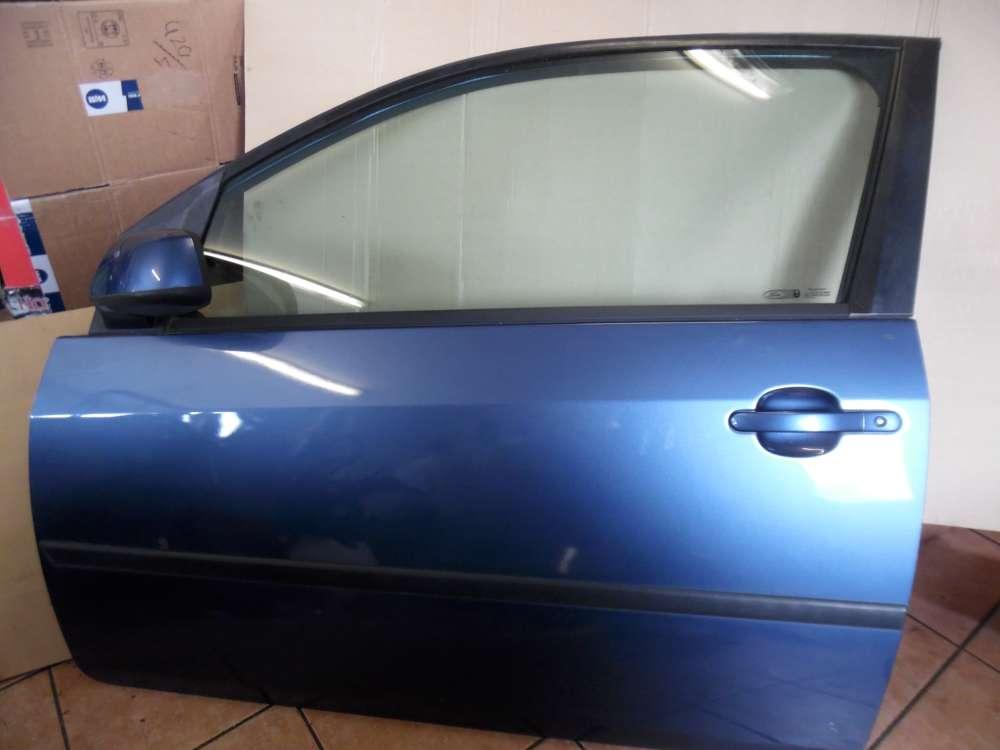 Ford Fiesta V Tür Vorne Links Blau 44