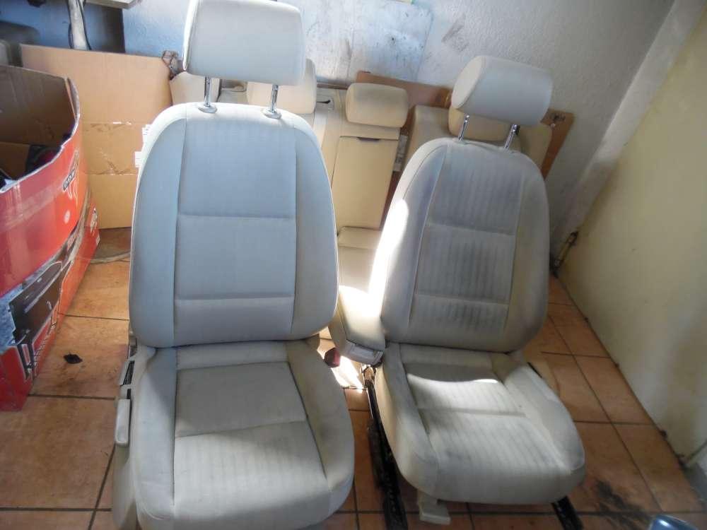Audi A4 8E Sitze Innenausstattung Komplett Stoff Beige