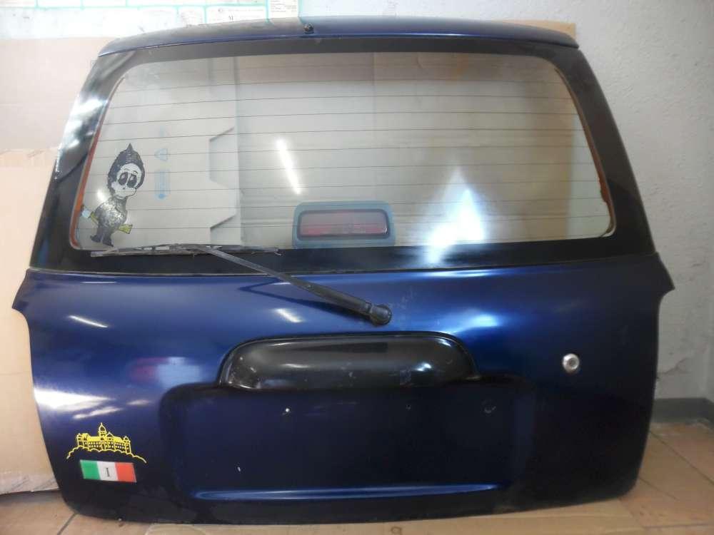 Daihatsu Cuore VI Heckklappe Kofferraumklappe Blau B42