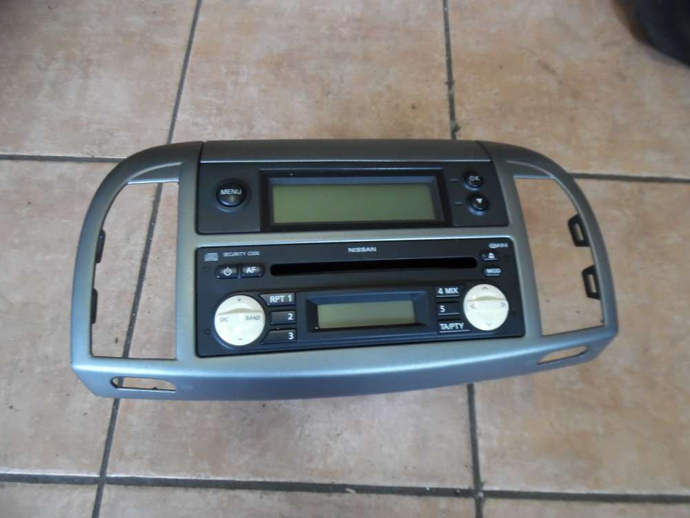 Nissan Micra K12 Radio mit Display 28185AX613  AX609