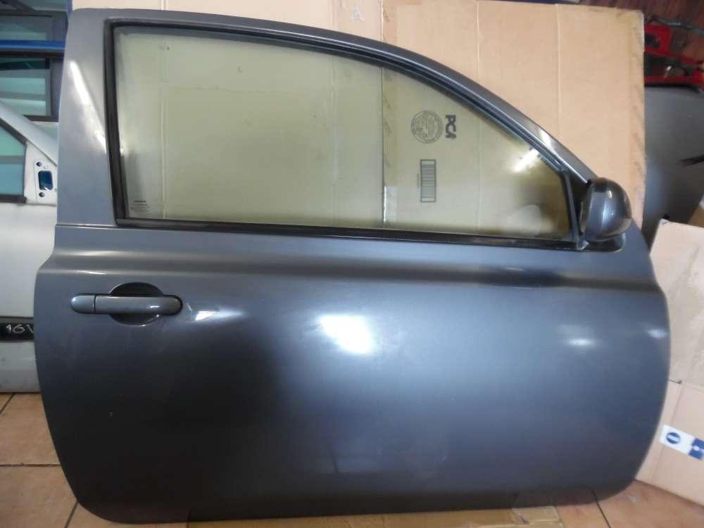 Nissan Micra K12 Tür Vorne Rechts grau Farbcode : KY5G