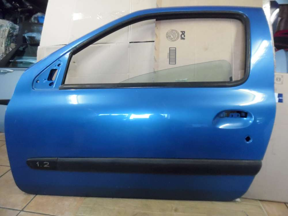 Renault Clio II 3-Türer Tür Vorne Links Hellblau