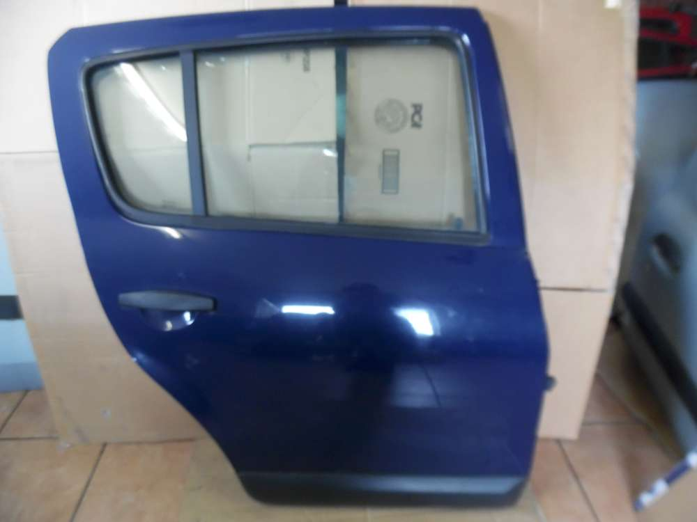 Dacia Sandero Tür Hinten Rechts Blau Farbcode : OV61H