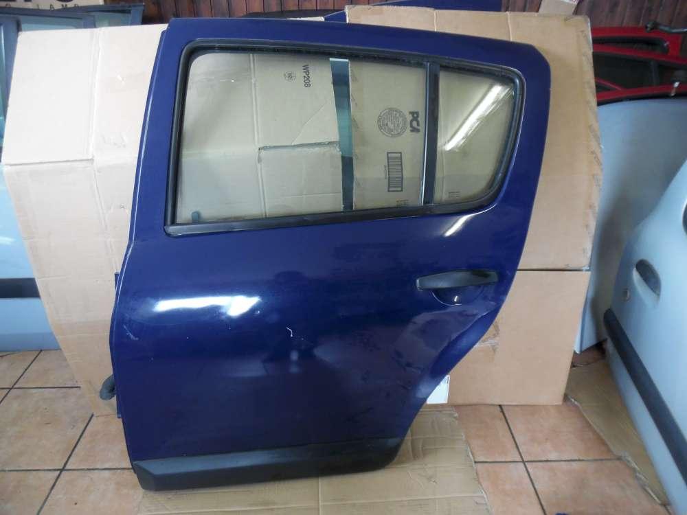 Dacia Sandero Tür Hinten Links Blau Farbcode : OV61H