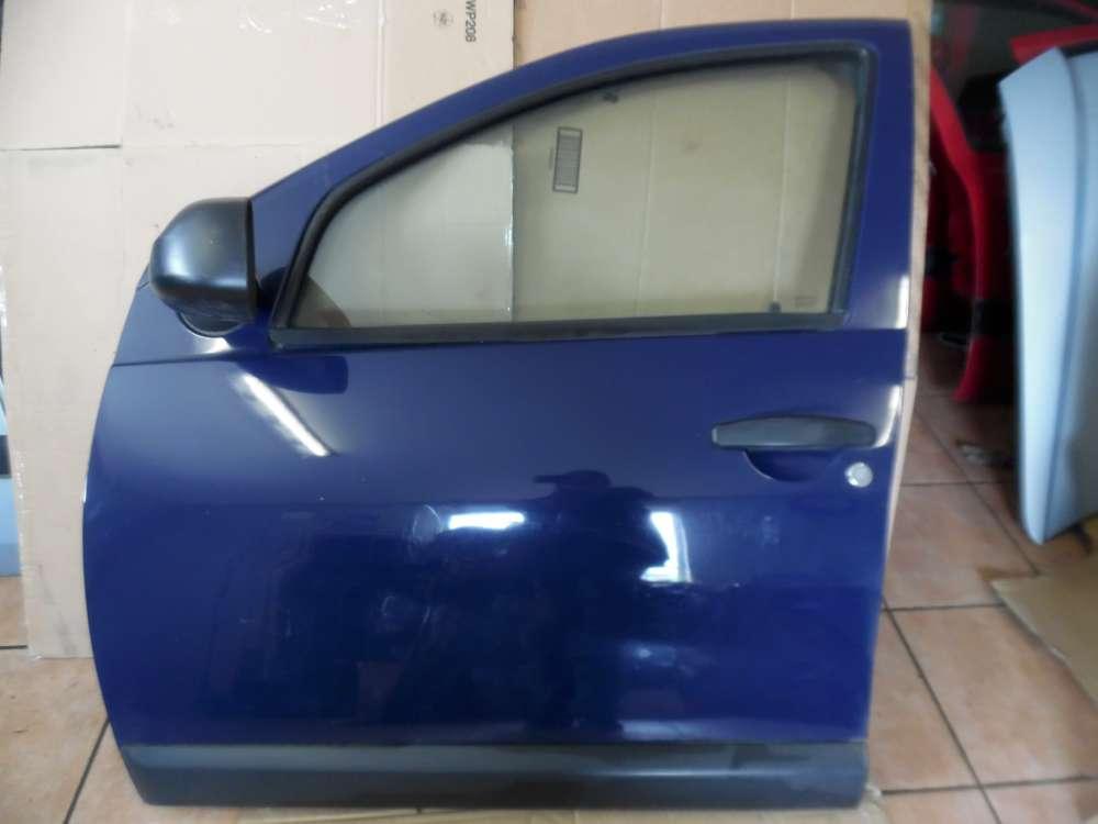 Dacia Sandero Tür Vorne Links Blau Farbcode : OV61H