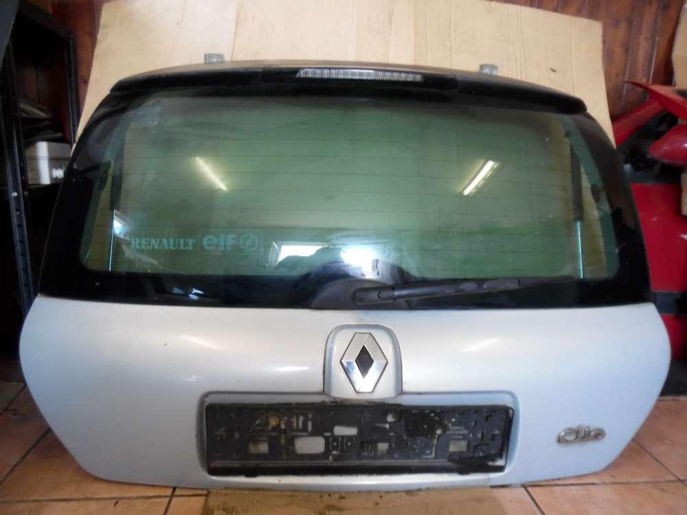 Renault Clio II Heckklappe Heckdeckel polargrau MV632