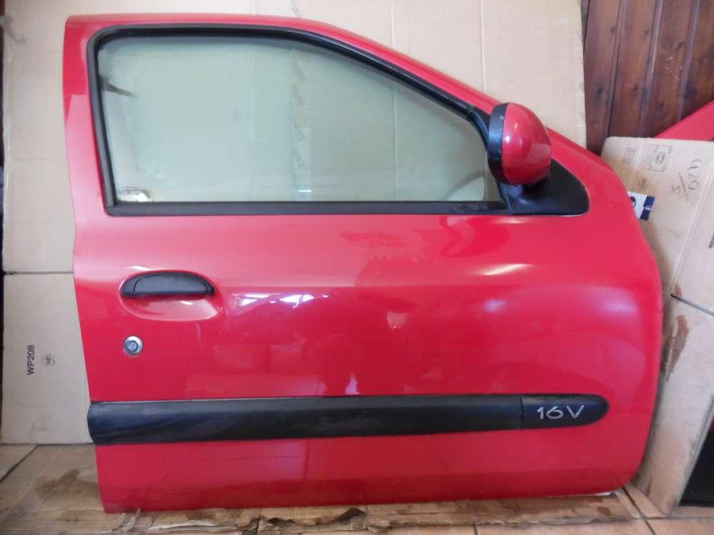 Renault Clio II Tür Vorne Rechts Rot Farbcode : OV731