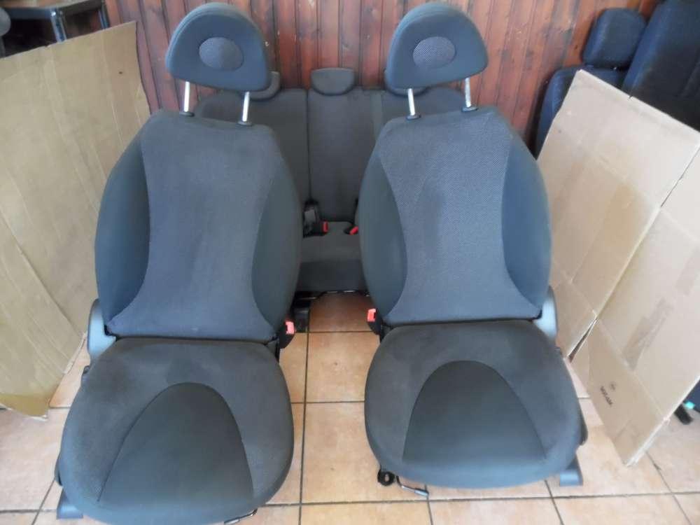 Nissan Micra K12 Sitze Innenausstattung Komplett Stoff grau
