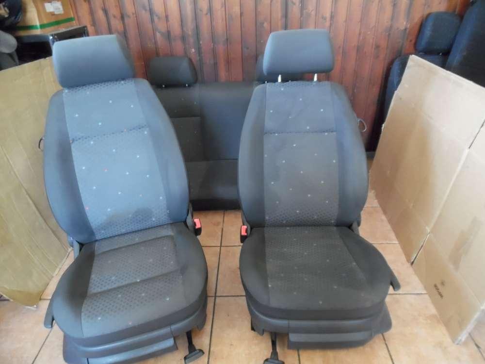 VW Polo 9N Sitze Innenausstattung Komplett Stoff grau