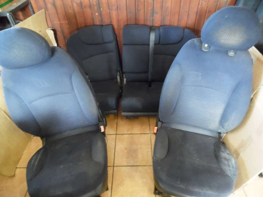 Fiat Stilo 192 Sitze Innenausstattung Komplett Stoff dunkelblau