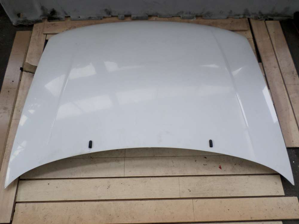 Peugeot Partner Kasten 5 Bj 2001 Motorhaube Farbe : Weiß