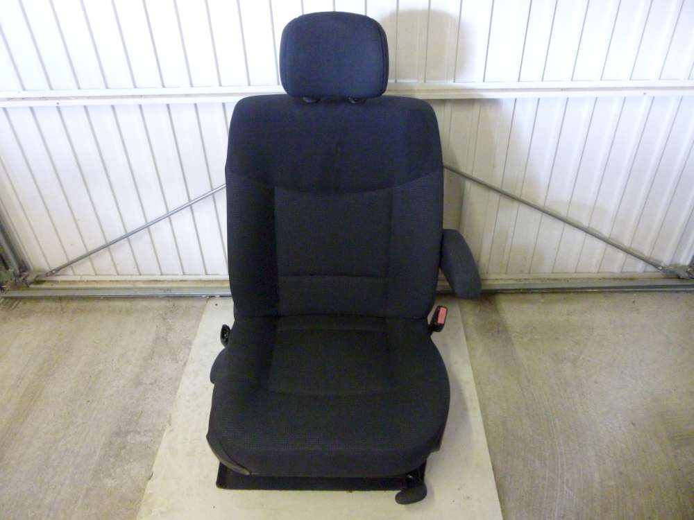 Renault Espace IV SITZ Beifahrersitz Vorne Rechts Dunkelgrau
