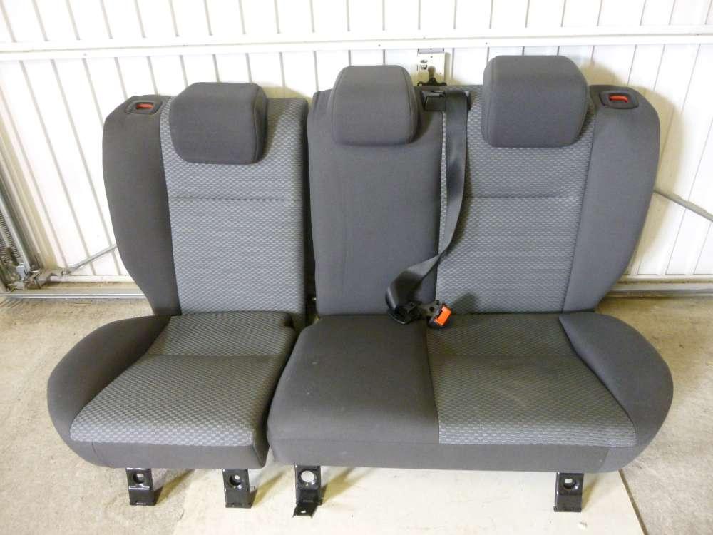 Ford Focus  Sitze Hinten Rücksitzbank Rücksitze Sitzbank dunkelgrau