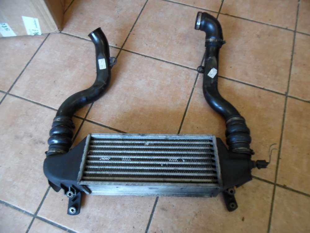 Ford Focus Ladeluftkühler Turbokühler XS4Q9L440CA mit 2-Ladeluftrohr 2M5Q-9F796-