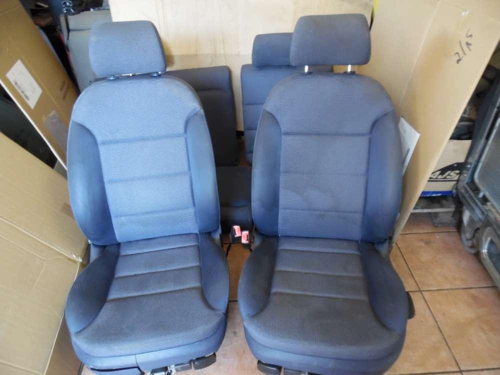 Audi A3 8L Innenausstattung Sitze Stoff Blau