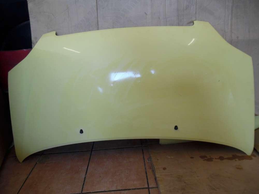 Opel Agila A Motorhaube Haube gelb Farbcode : Y485