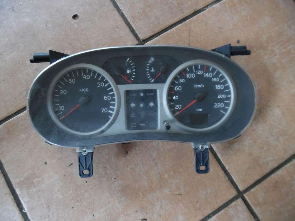 Renault Clio II Tacho Kombiinstrument 166500KM P8200059776