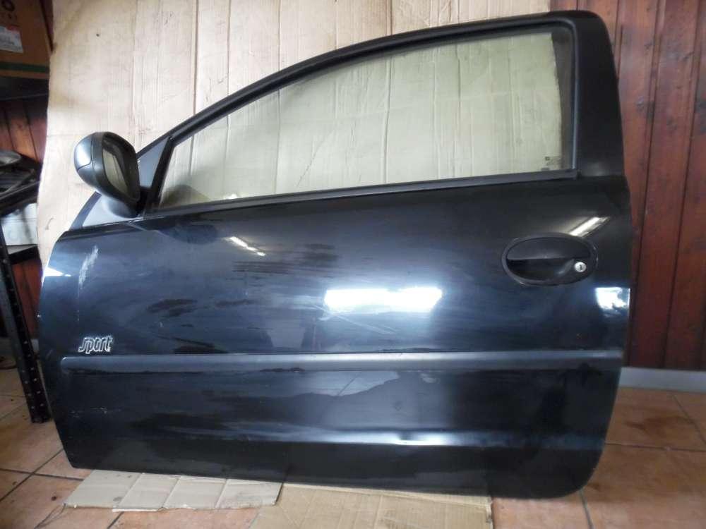 Opel Corsa C 3-Türer Tür Vorne Links Schwarz Farbcode : Z20C