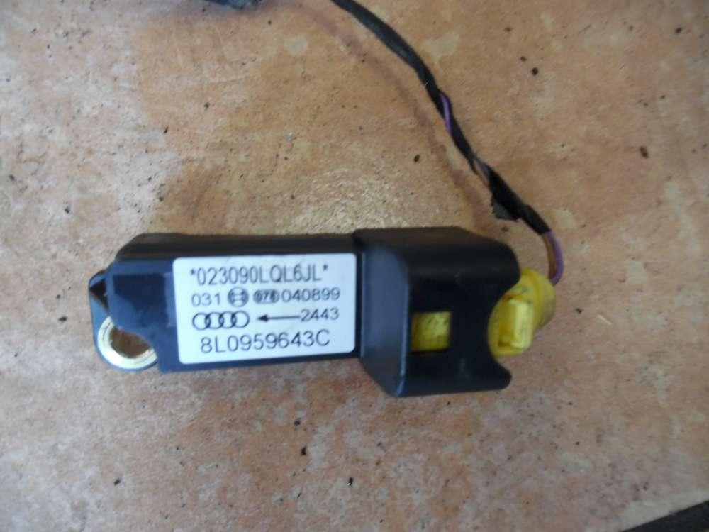 Audi A3 8L Crashsensor Airbagsensor Sensor  8L0959643C