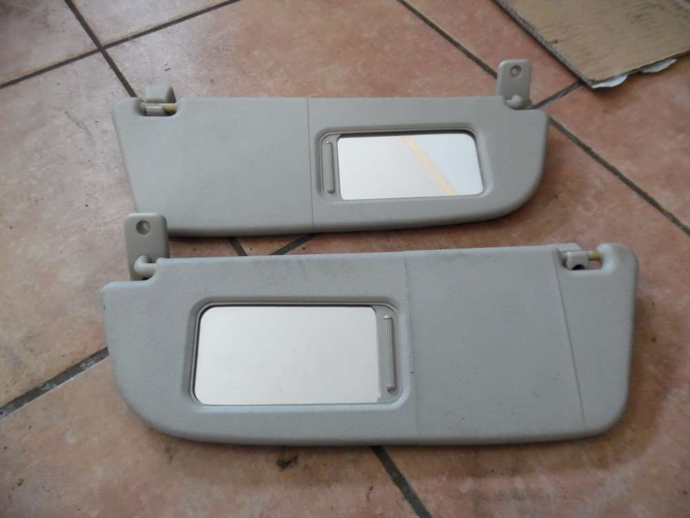 Opel Corsa C Sonnenblende mit spiegel Rechts / Links 24409339