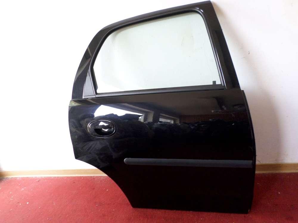 Opel Corsa Bj.2004 Tür hinten rechts 5 türig schwarz metallic