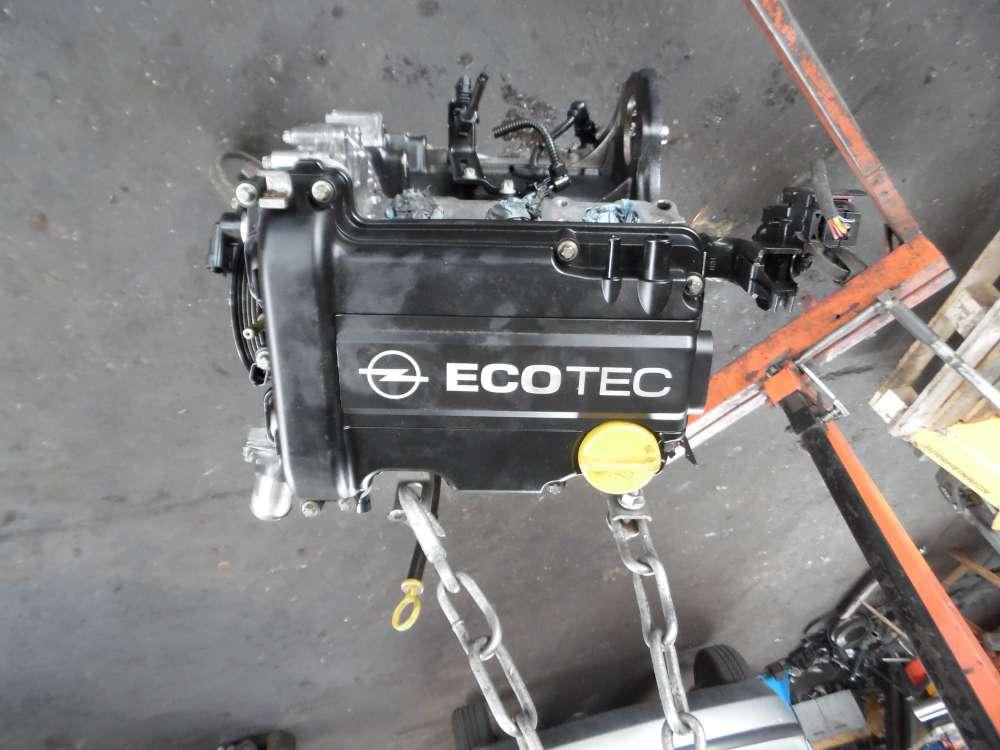 Opel Agila A 1,0L Motor 220000KM Z10XEP 55355431