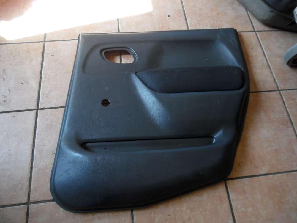 Opel Agila A Türverkleidung Türpappe Hinten Rechts 09214960