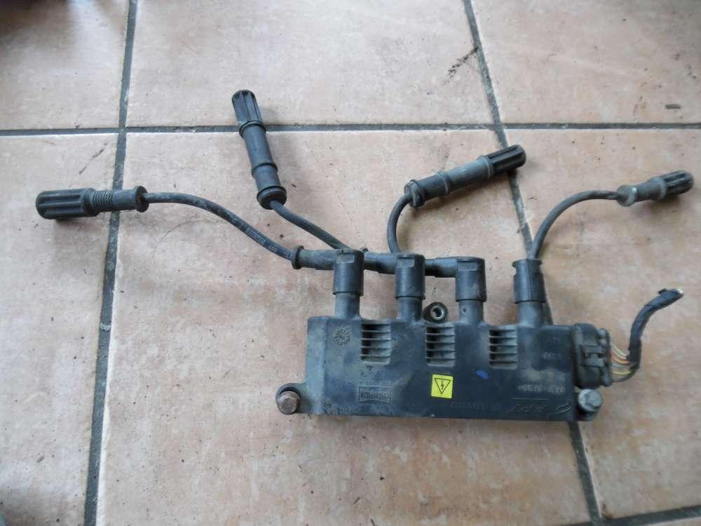 Fiat Punto 199 Zündspule Zündmodul mit 4x Zündkabel 55200112
