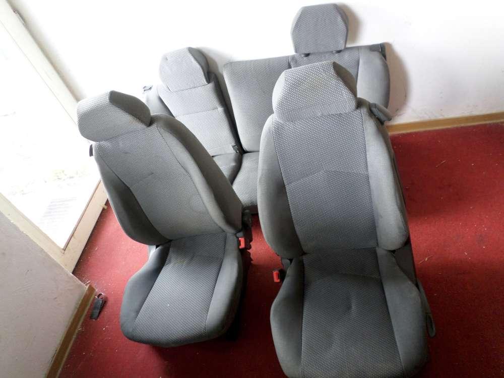 Fiat Punto 188 Bj.2000 Sitze Komplett Fahrersitz Beifahrersitz Rücksitzbank grau