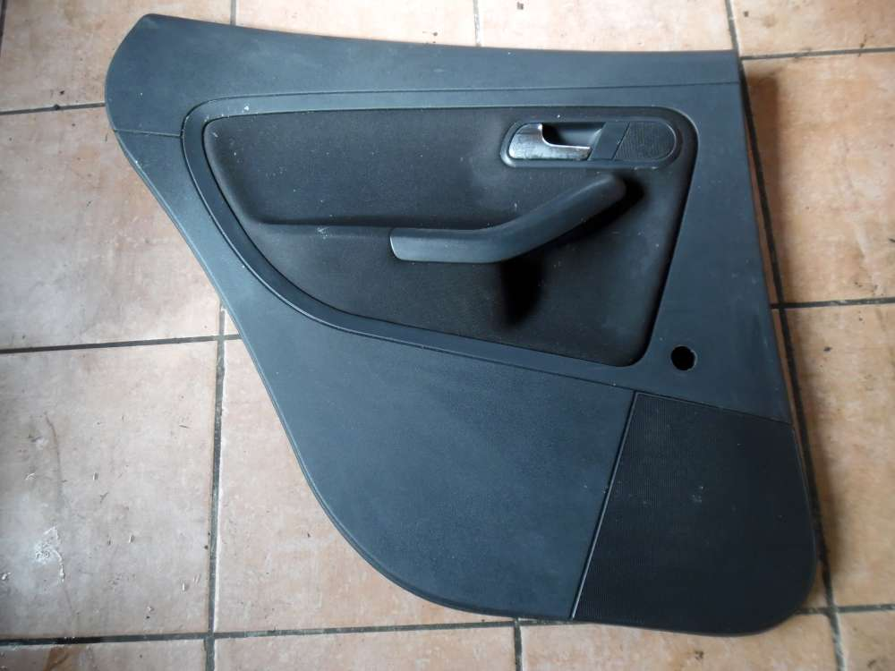 Seat Ibiza 6L Türverkleidung Verkleidung Hinten Links 6L4867211