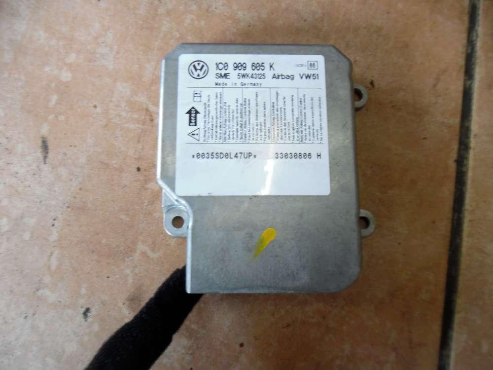 VW Polo 9N Airbagsteuergerät 1C0909605K