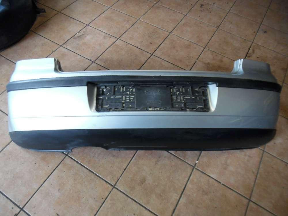 VW Polo 9N Stoßstange Stoßfänger Hinten silber Farbcode : LA7W