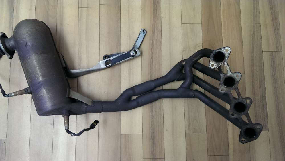 KAT für Mercedes A Klasse  W168 A140 Krümmer Auspuff Katalysator  95000 Km