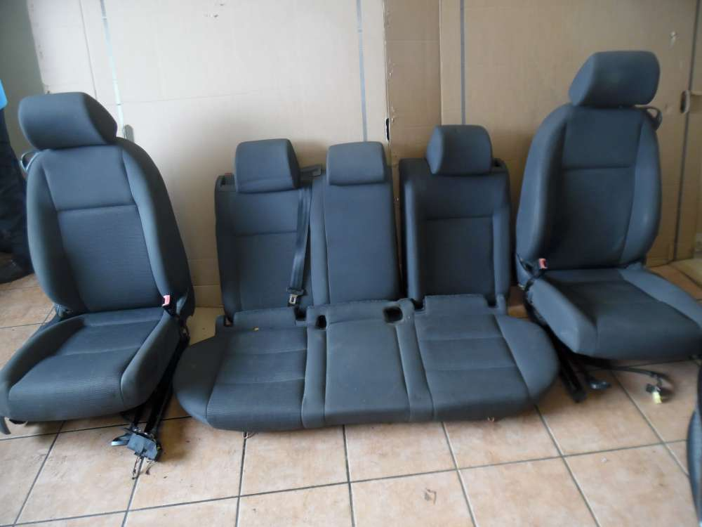 VW Golf V 3-Türer Sitze Innenausstattung Stoff grau